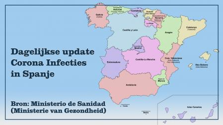 corona-infecties-in-spanje